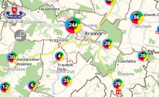 Krasnik Krajowa Mapa Zagrozen Na Terenie Powiatu