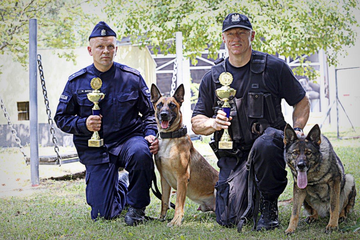 JOGA i KODAK zwycięzcami wojewódzkich eliminacji do Kynologicznych Mistrzostw Policji Sułkowice 2019