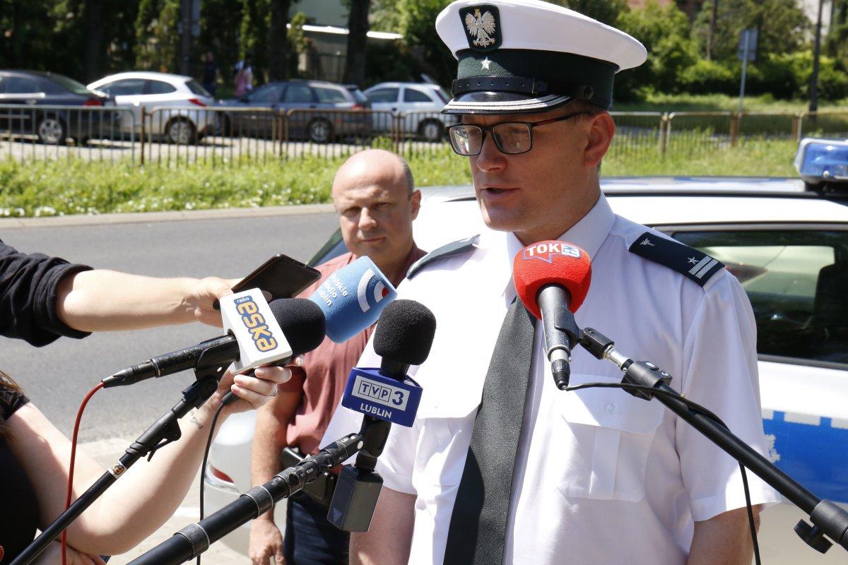 Naczelnik Wydziału Inspekcji Inspektoratu Transportu Drogowego w Lublinie Pan Paweł Gruszka