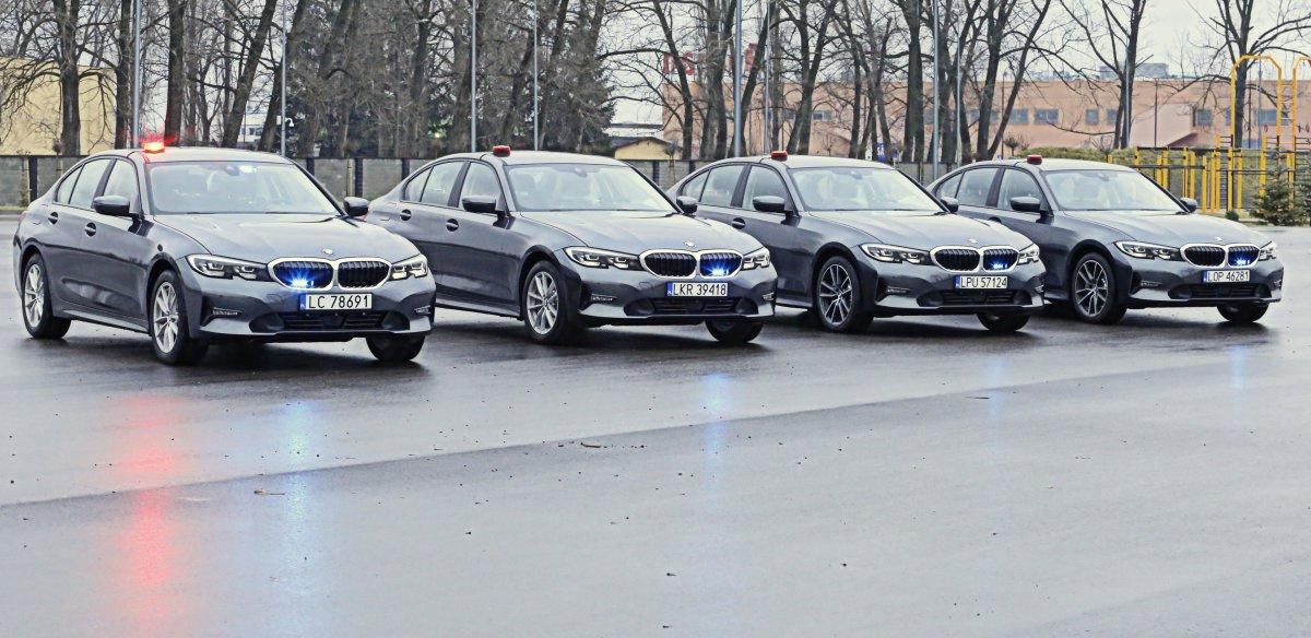 Nowoczesne radiowozy marki BMW